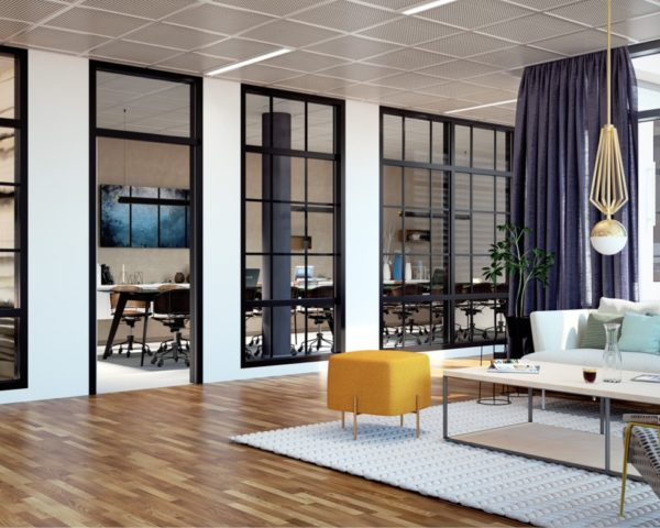 Moderna kontor i Kista Bright